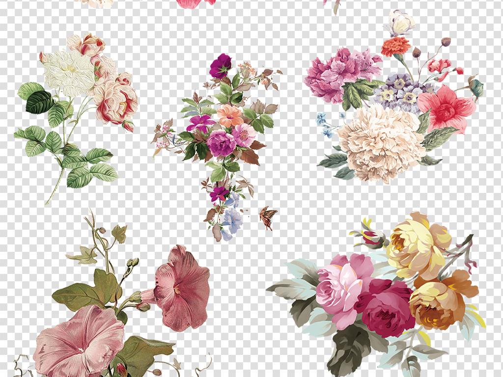 手绘花朵森系
