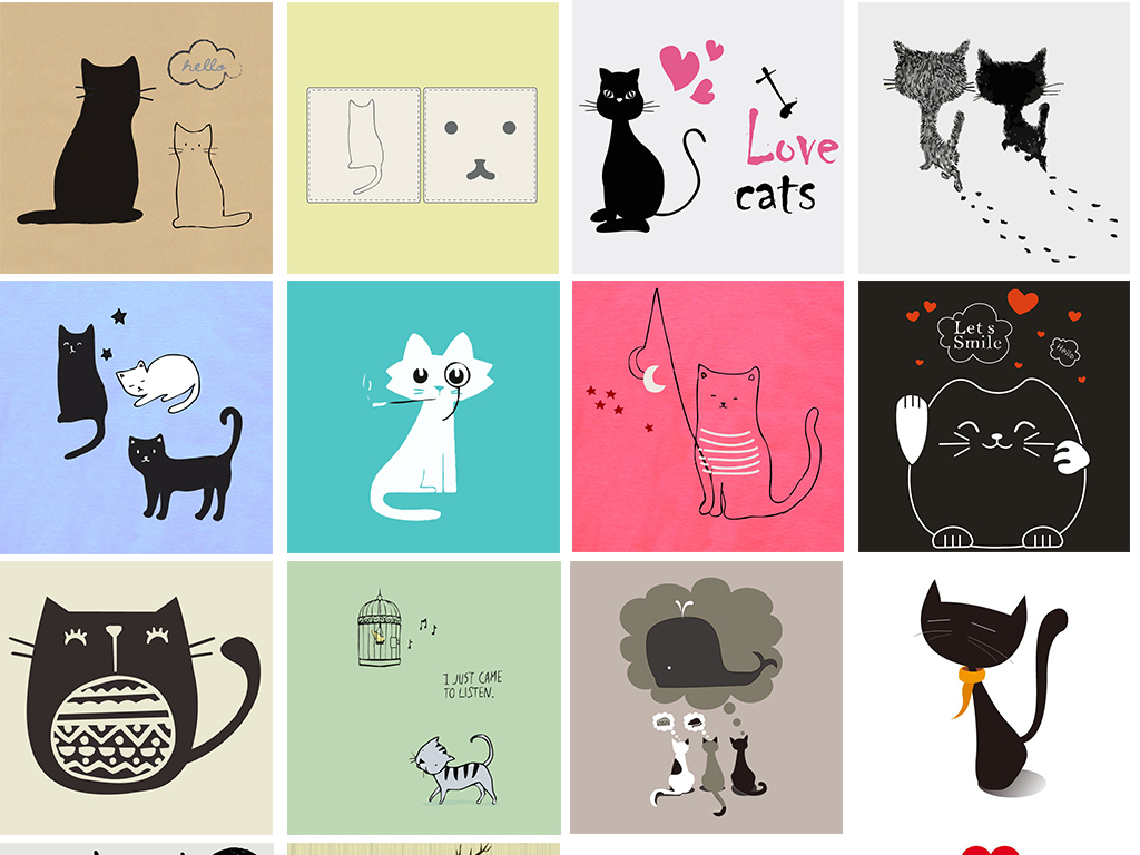 ps简单动物图案