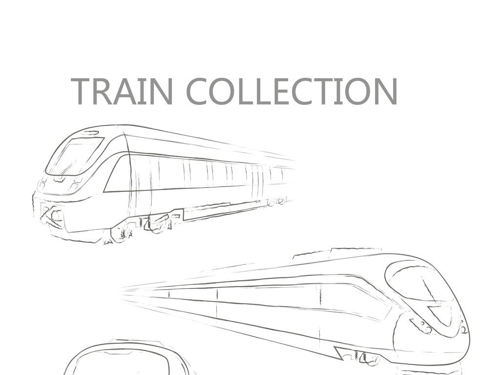 手绘火车简笔插画(图片编号:16465742)_其他_我图网