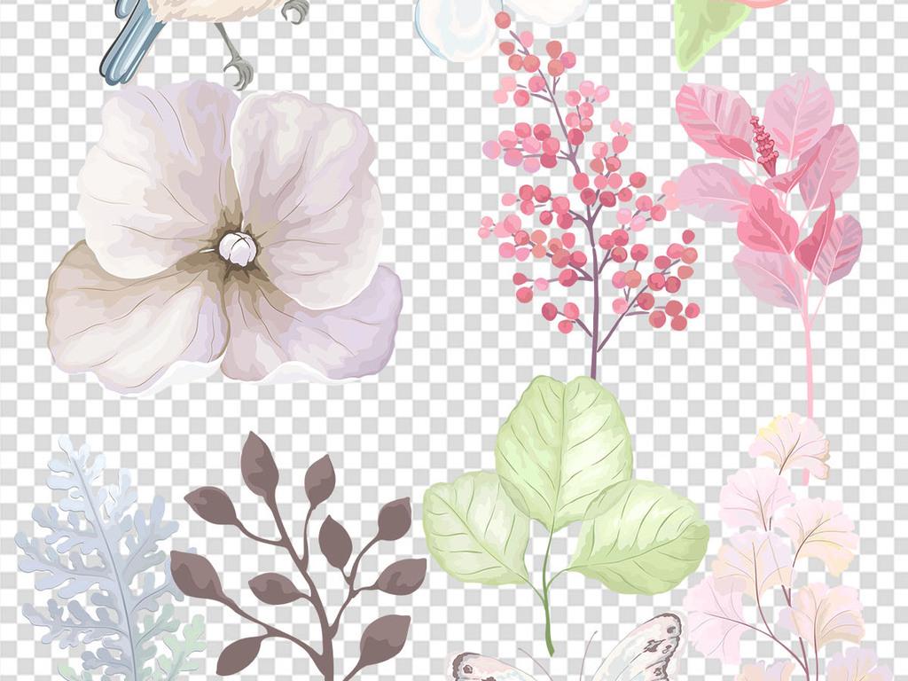 花鸟手绘素材花鸟黄鹂绿叶树枝树枝图片枫树枝抽象树枝干树枝桃树枝