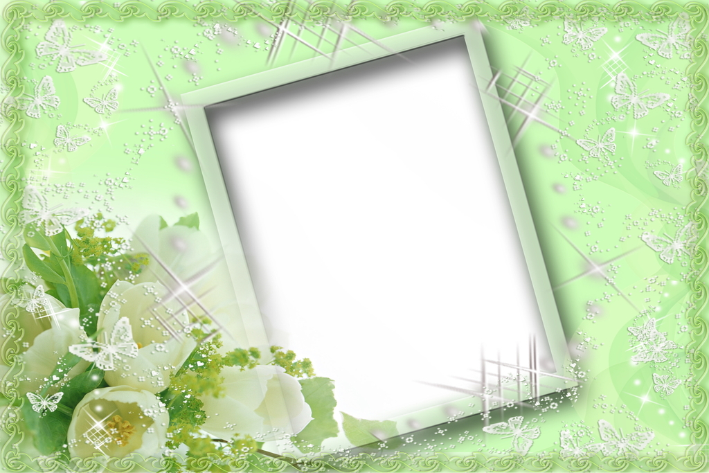 相框模板数码相框相片边框唯美相框插画照片画框背景