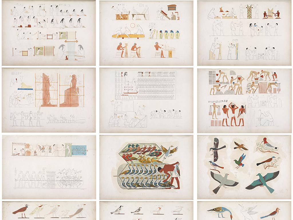 埃及金字塔人面像等多素材图片合集jpg1