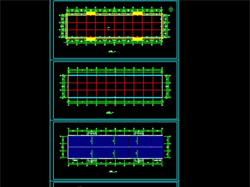 我图网提供独家原创钢结构车间CAD建筑施工图正版素材下载, 此素材为原创版权图片,图片,图片编号为16468498,作品体积为,是设计师QQ56C9BEB9在2017-05-10 22:42:41上传, 素材尺寸/像素为-高清品质图片-分辨率为, 颜色模式为,所属别墅CAD图纸分类,此原创格式素材图片已被下载0次,被收藏76次,作品模板源文件下载后可在本地用软件 AutoCAD 2006(.