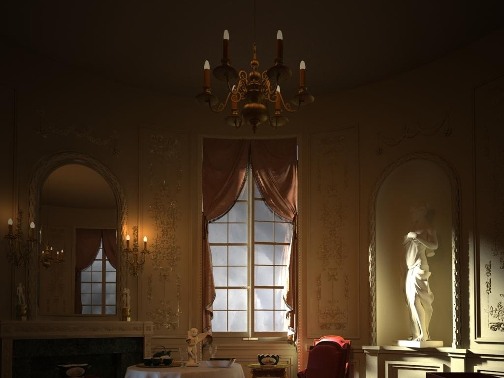 欧式室内建筑图片