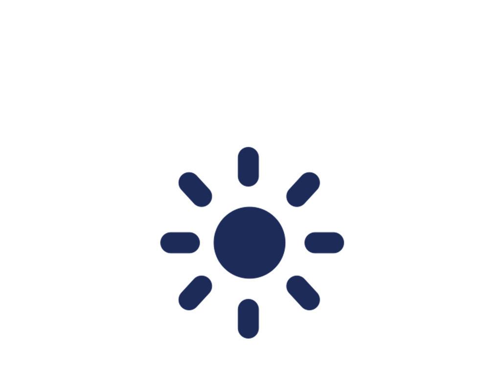 蓝色太阳简单标志