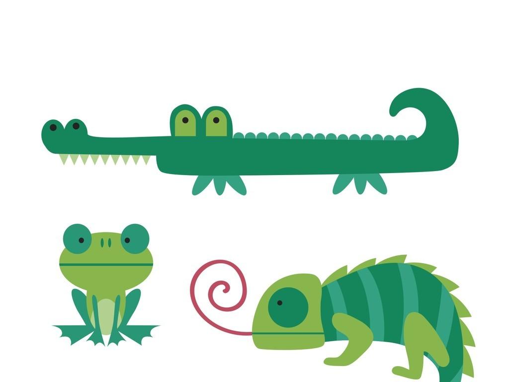 青蛙颜色简笔画