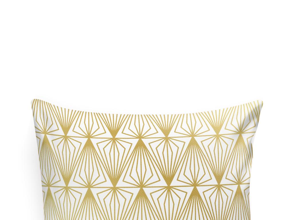 抽象几何北欧风抱枕图案设计图片