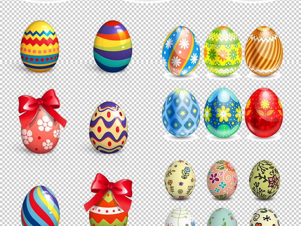 复活节彩蛋蛋砸彩蛋手绘彩蛋复活彩蛋金彩蛋玩具素材礼品卡通