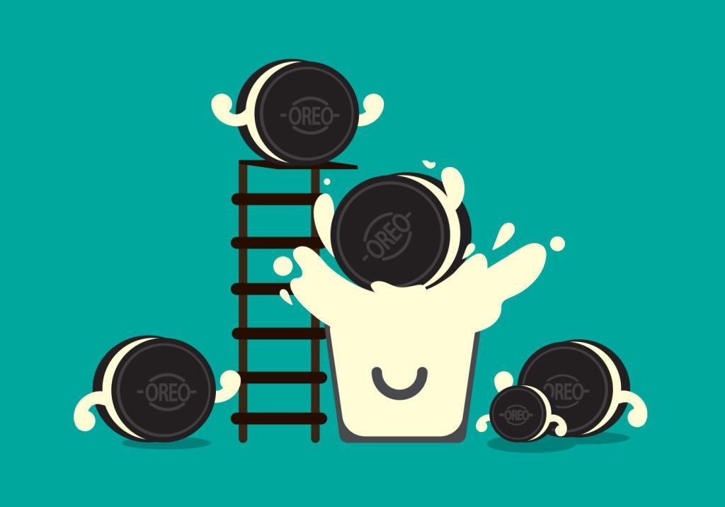 手绘饼干插画