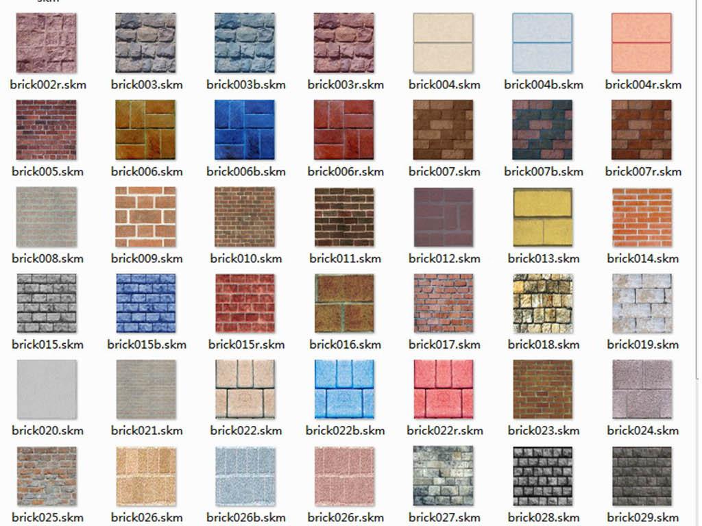 skp)木地板木门贴图大理石贴图地砖贴图地板屋面瓦天空广场砖路面金属