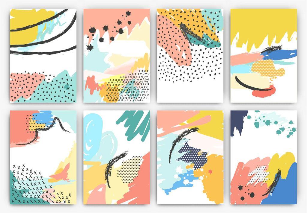 创意手绘海报设计手绘元旦晚会海报超市手绘pop海报幼儿园手绘海报