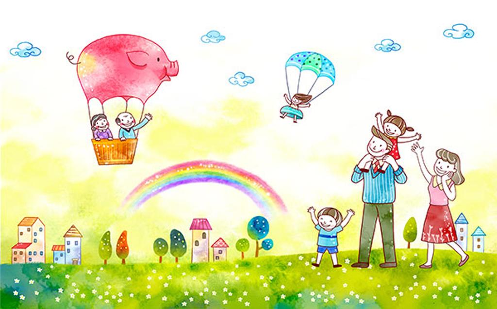 儿童节插画图片素材 psd模板下载 36.65MB 其他大全 其他