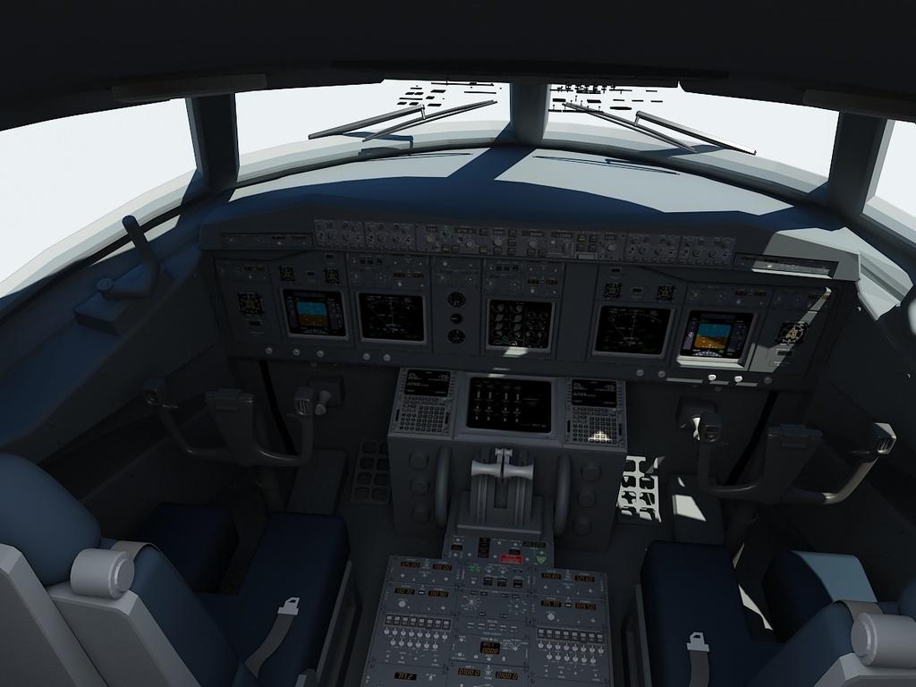 模型库 其它模型 游戏动漫 > 超精细737berlin飞机内部波音737客机