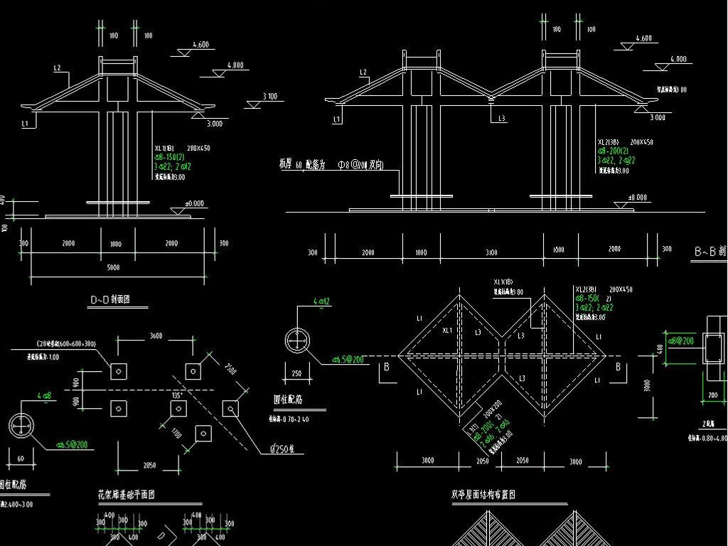 我图网提供独家原创景区喷泉、收费亭、花架廊CAD设计图正版素材下载, 此素材为原创版权图片,图片,作品体积为,是设计师QQA9BF51494DFEE在2017-06-04 15:33:46上传, 素材尺寸/像素为-高清品质图片-分辨率为, 颜色模式为,所属花坛树池分类,此原创格式素材图片已被下载0次,被收藏76次,作品模板源文件下载后可在本地用软件 AutoCAD 2006(.