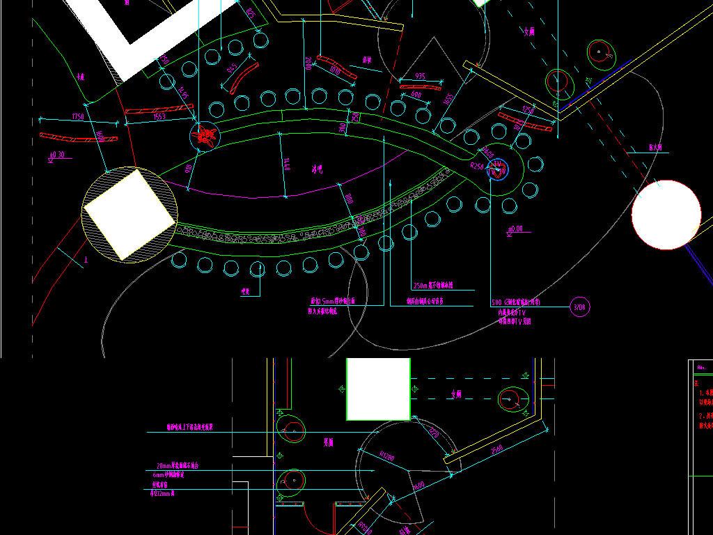 场所休闲娱乐会所夜场娱乐中心酒吧cad室内装修酒吧cad设计方案酒吧ca