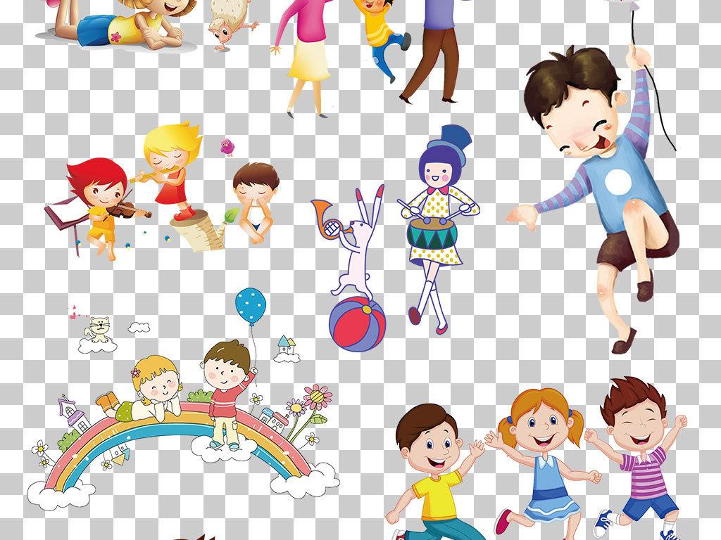 海报儿童节六一儿童节海报                                  手拉手