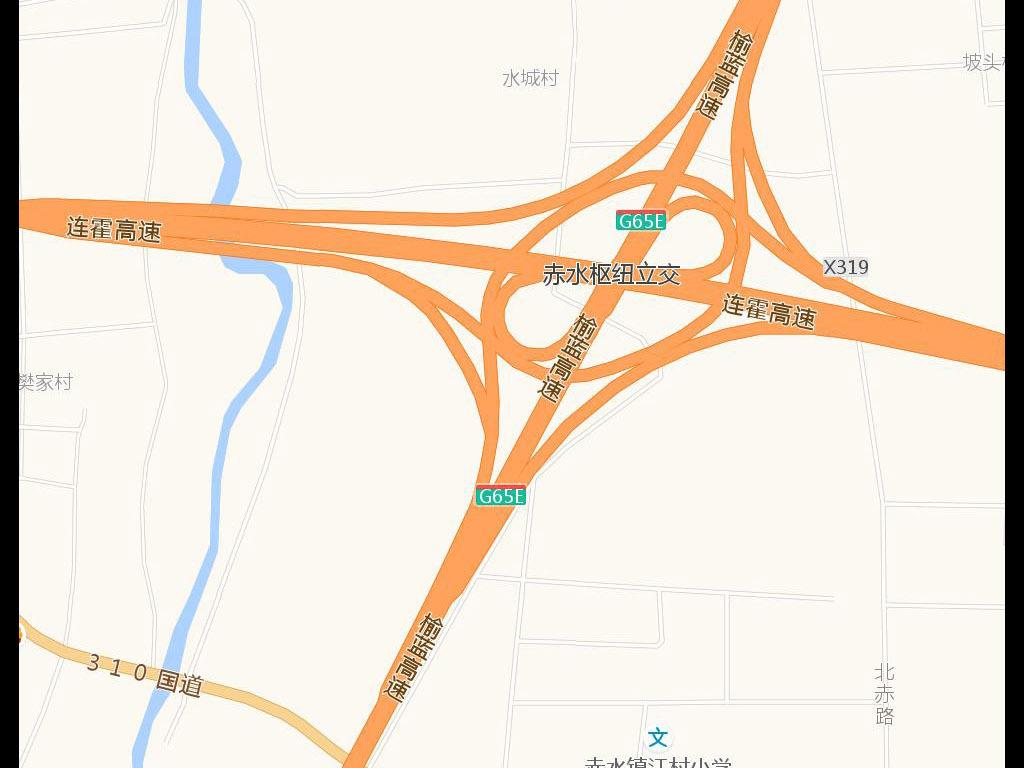 高德版高清渭南市地图电子地图图片下载