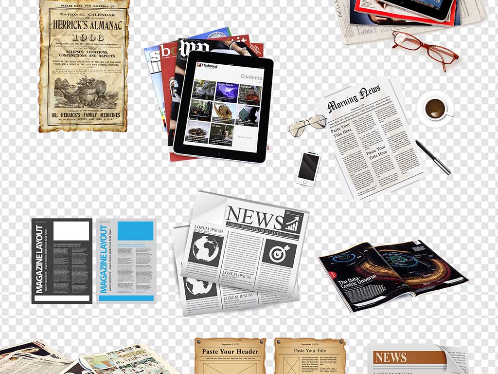 设计元素 背景素材 其他 > 时尚杂志报纸书本书籍素材  版权图片 分享
