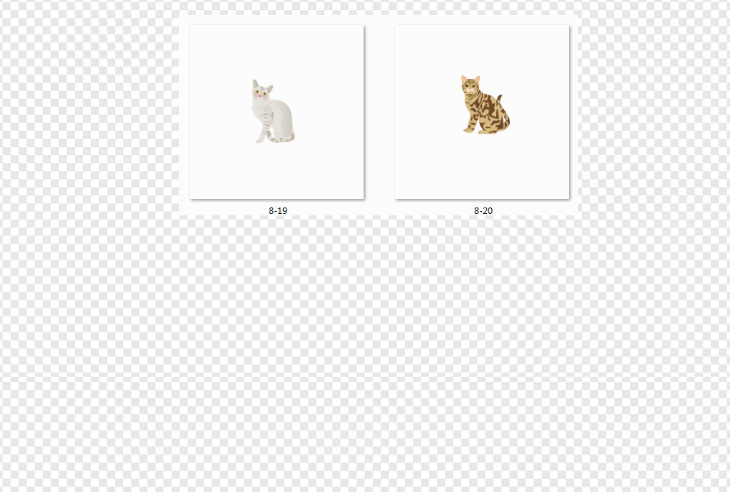 儿童画手绘插画小猫咪矢量猫猫咪和狗可爱