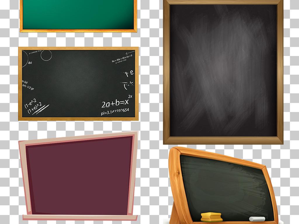 卡通黑板                                  黑板画手绘黑板
