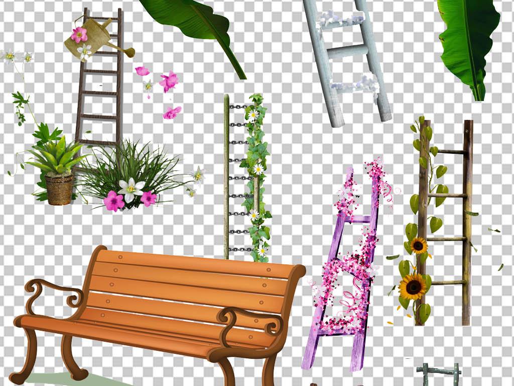 边框手绘花朵图案芭蕉叶叶子素材叶子素材旅游素材城市风景城市建筑