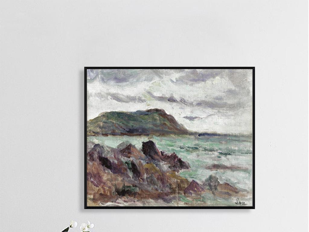 古典风景油画人物画墙画壁画手绘画