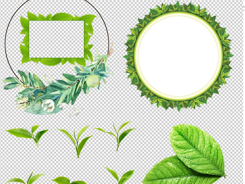 设计作品简介: 春天绿叶树叶飞溅特效图片png素材 位图, rgb格式高清