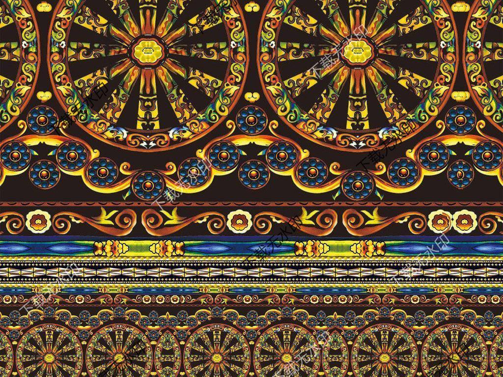 产品图案设计 服装/配饰印花图案 其它图案 > 中式花纹  中式花纹图片图片