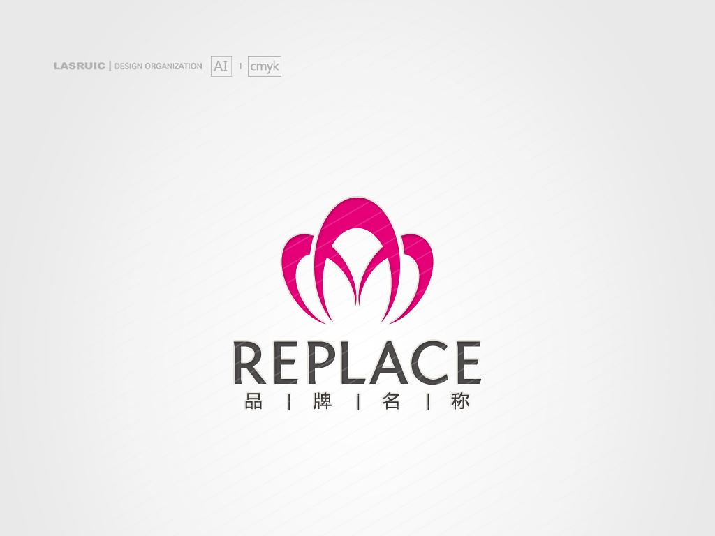 logo设计鲜花logo花店logo图片