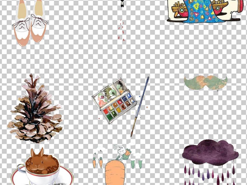免抠森系欧风手绘小清新小清新手绘手绘人物手绘背景手绘墙手绘背景墙