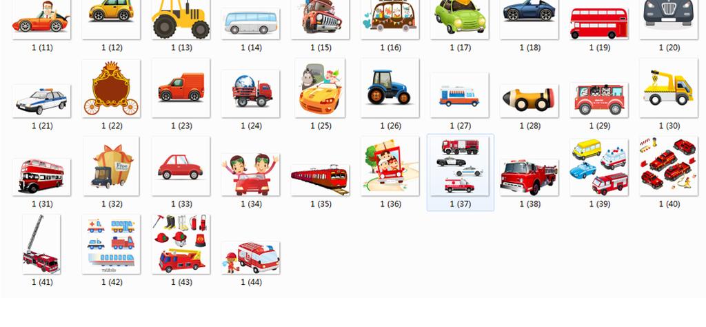 png)手绘卡通汽车素材环保卡通车司机