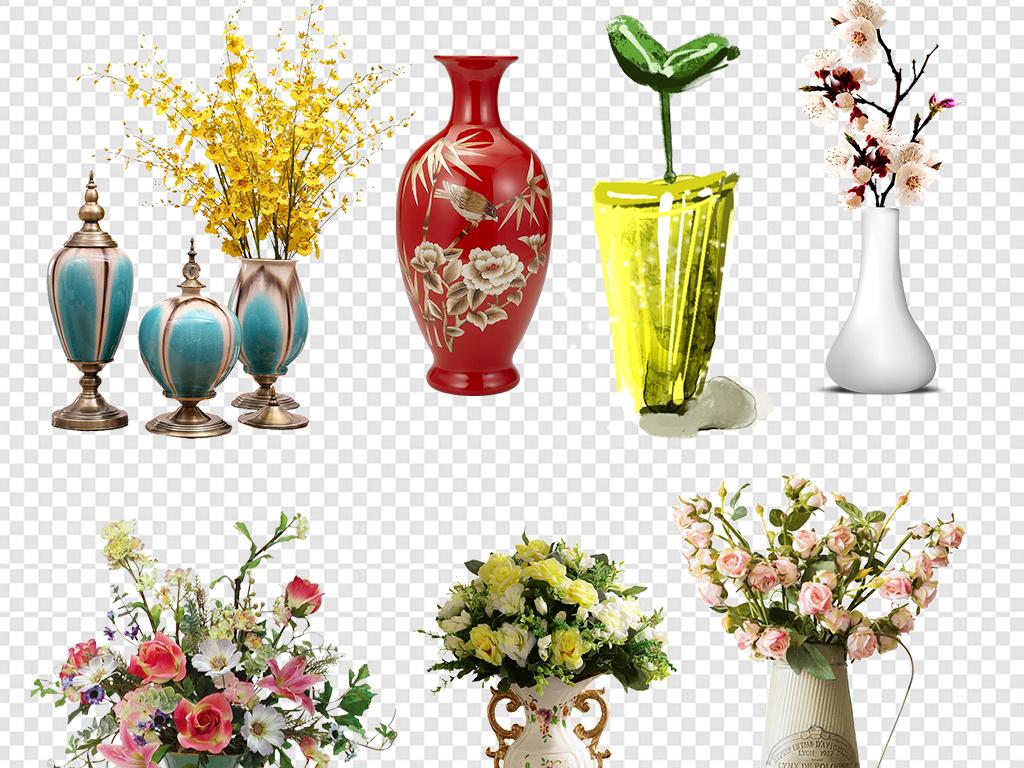 花瓶家居摆件装饰图片素材