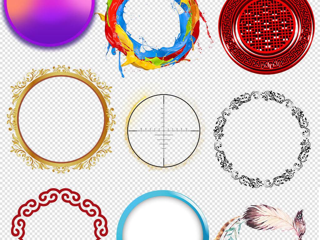 花纹圆形边框圆圈设计圆形手绘图片圆形图案花边圆形花纹圆形花边圆形