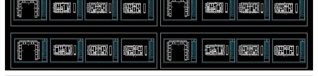 l型u型衣柜柜体内部结构图库