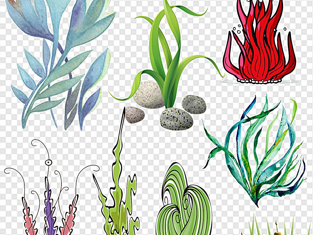 卡通水草海底水草海底动物海底风景图海底鱼海底世界的图片海底总动员