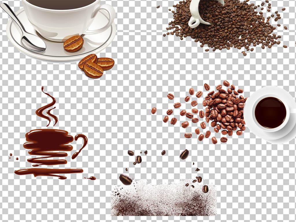 休闲咖啡下午茶饮料png海报素材