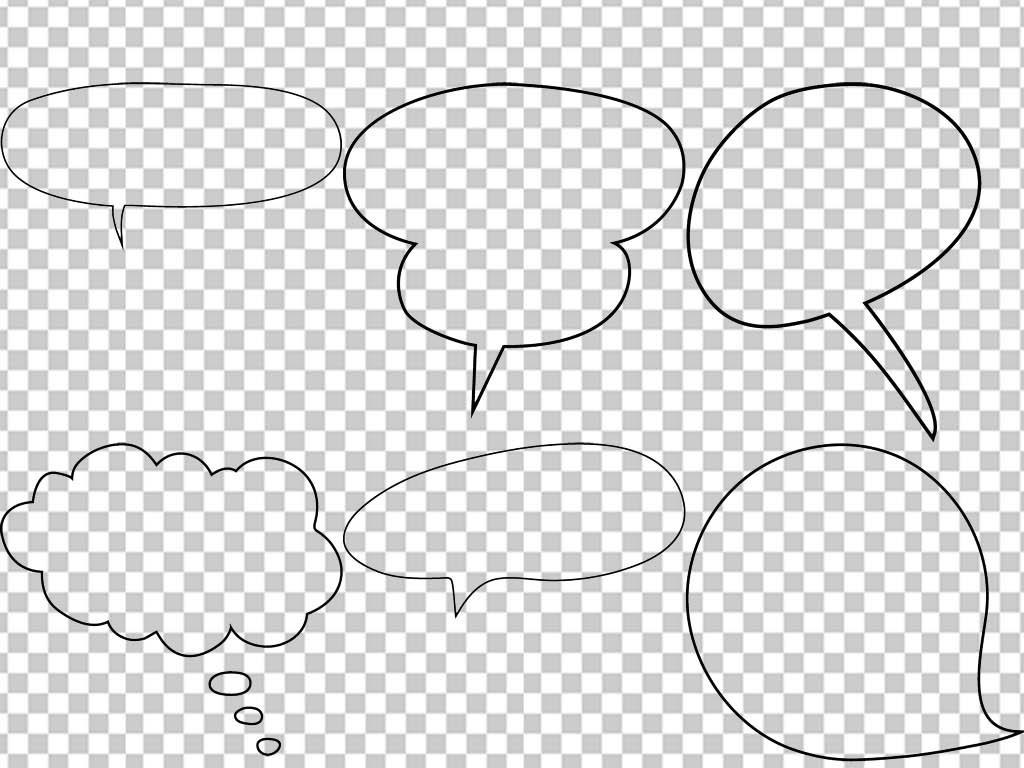 小报边框大全对话框成长档案相框png素材
