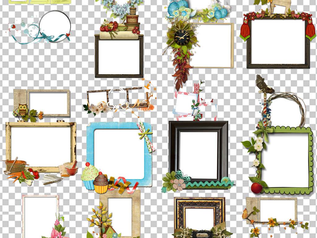 设计作品简介: 小报边框成长相框png素材框架pngag手机版下载|首页 位图, cmyk格式图片
