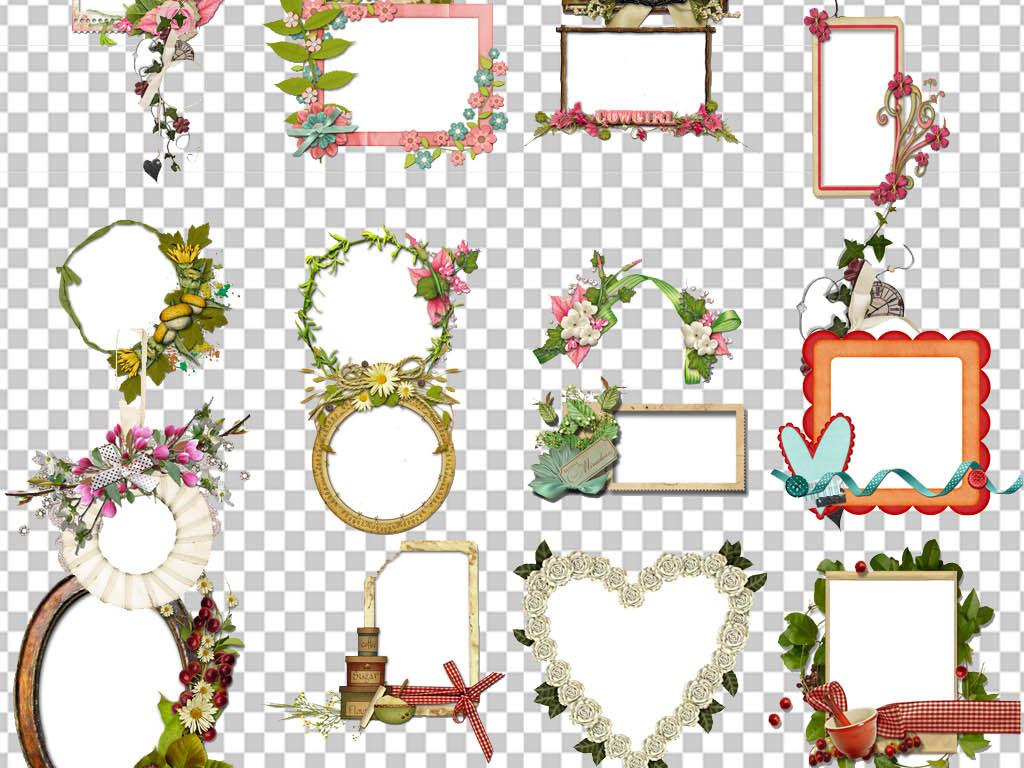 设计元素 其他 装饰图案 > 小报边框成长相框png素材框架png模板