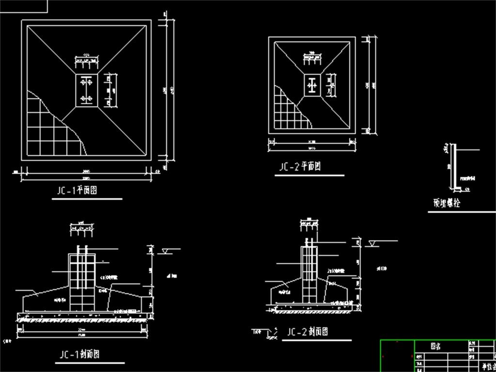 dwg)钢结构厂房施工图厂房cad施工图厂房平面图厂房cad建筑图