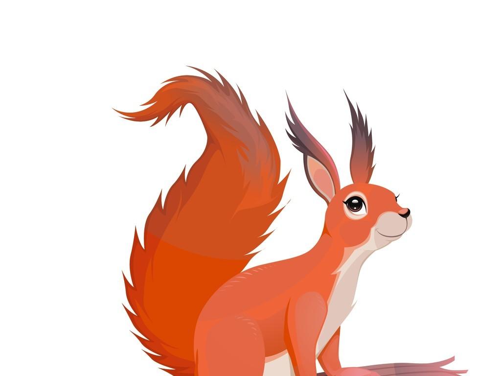 设计元素 自然素材 动物 > 动物插画松鼠  版权图片 分享 :  举报有奖