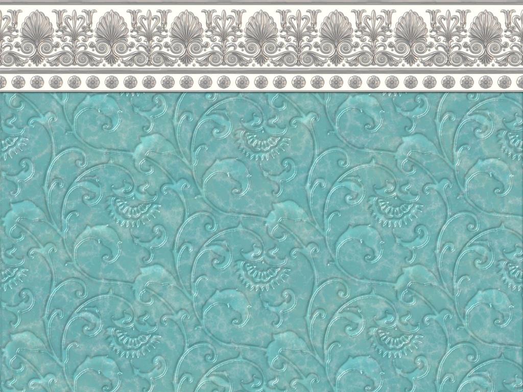 瓷砖贴图欧式花纹边框底纹花边