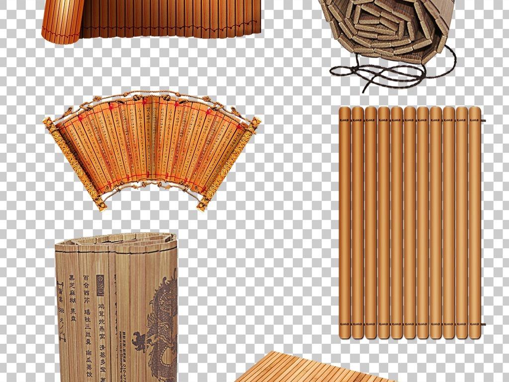 古典竹简png海报素材图片下载png素材 中国风素材图片