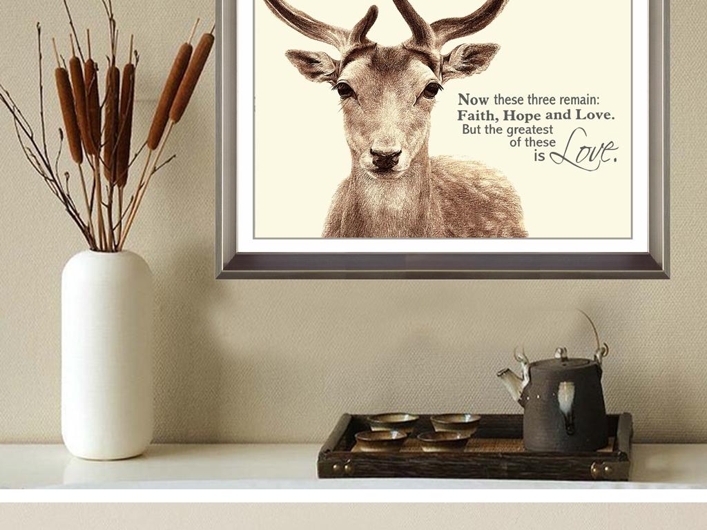 鹿头纸板手工制作