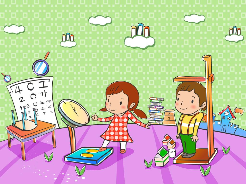 矢量卡通童年快乐童年快乐儿童图库151