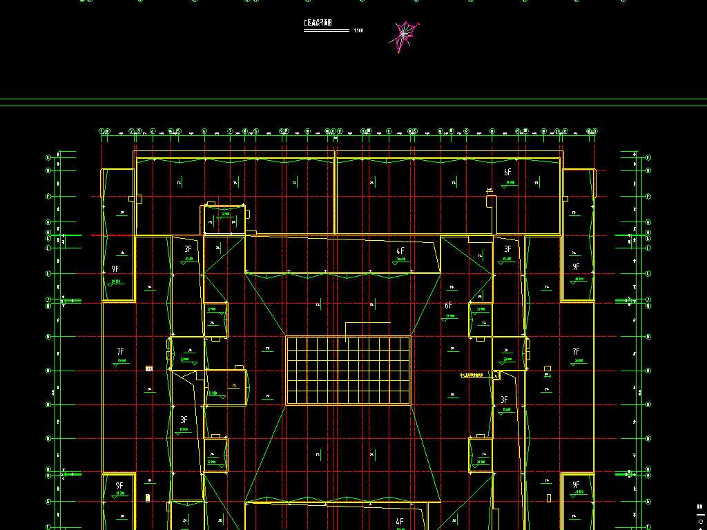 2套商场cad设计图