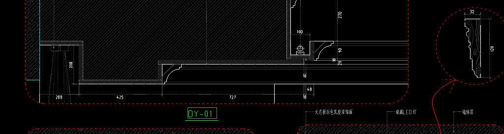 楼层别墅cad室内装修设计方案施工图平面布置图立面图剖面图建筑图