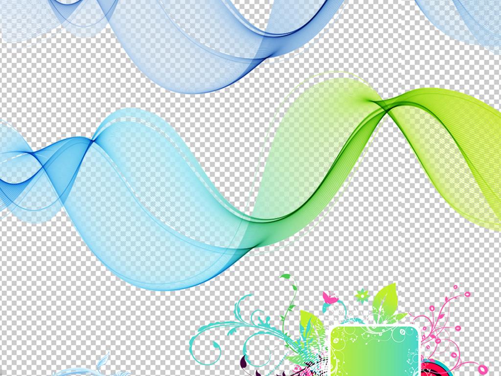 45款炫彩边框元素png素材图片