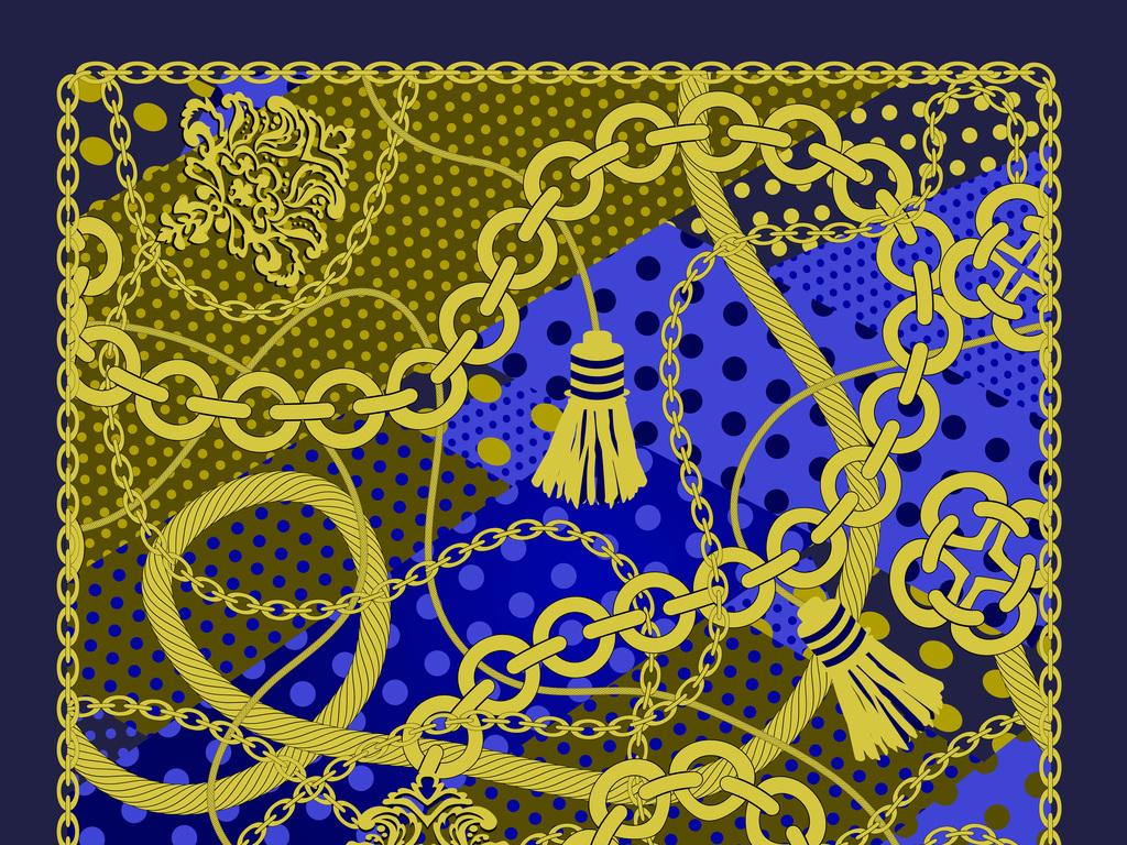 欧式花纹抽象几何艺术图案背景图片