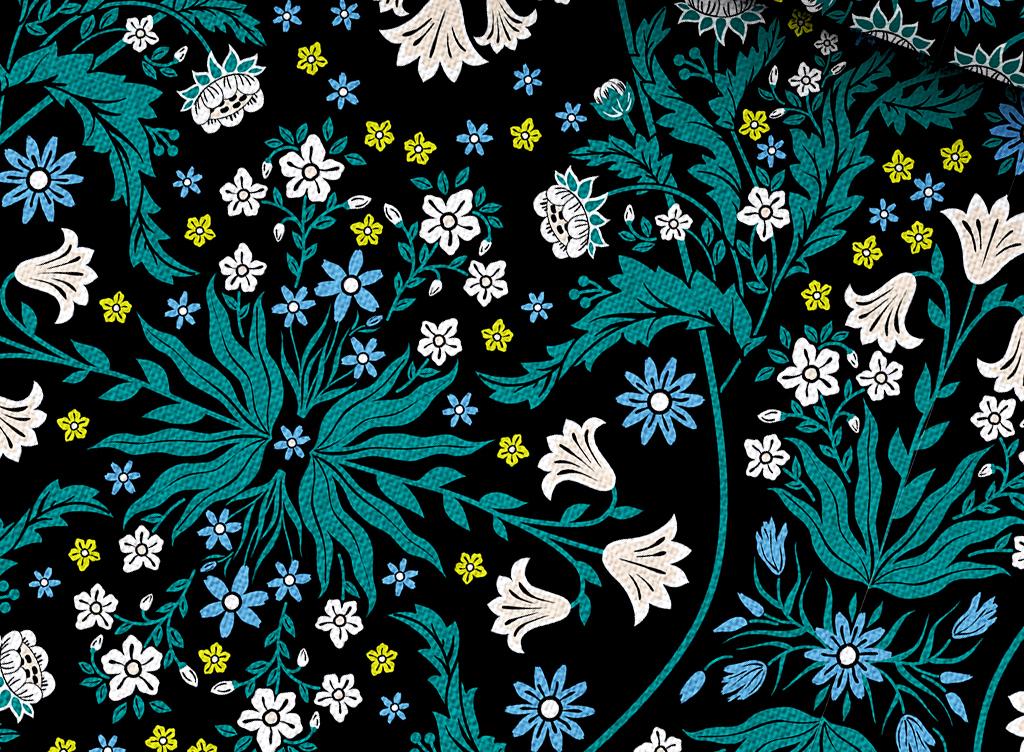 植物花卉抱枕图案